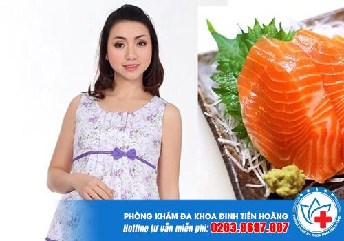 Cá hồi là một trong các loại thức ăn tốt nhất cho bà bầu