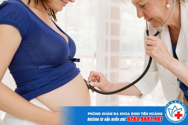 bị viêm gan B khi mang thai có sao không