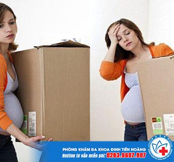 Mang thai 3 tháng đầu nên kiêng làm gì?