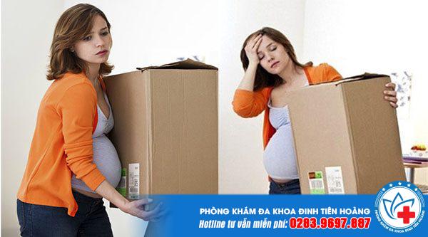 Mang thai 3 tháng đầu nên kiêng làm gì