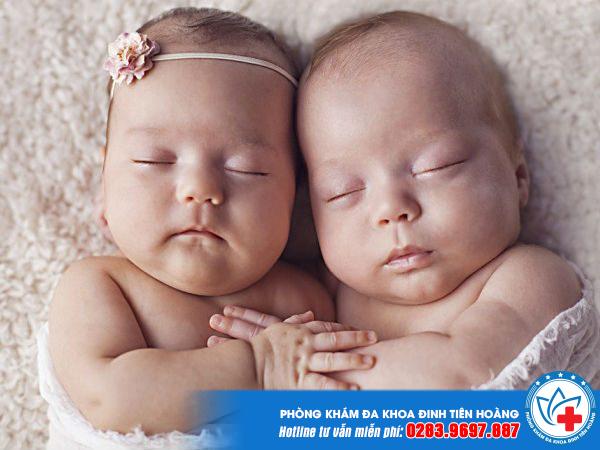 Sinh đôi 1 trai 1 gái - Song thai khác trứng không phải ai cũng biết
