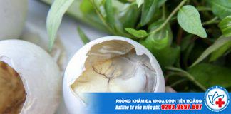 Bà bầu ăn trứng vịt lộn cần lưu ý như thế nào?