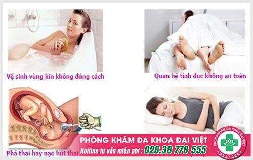 Một số hình ảnh viêm lộ tuyến cổ tử cung rõ nét