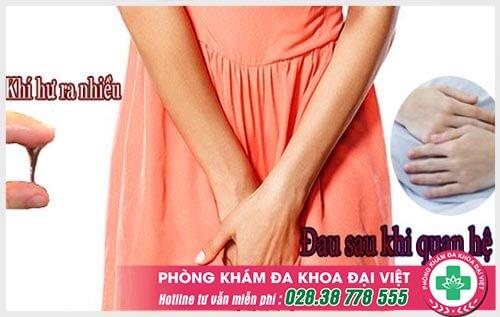 Nhận biết biểu hiện viêm cổ tử cung nhẹ và nặng ở nữ giới