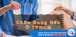 phòng khám chữa bong gân ở tphcm