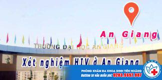 địa chỉ xét nghiệm hiv ở an giang