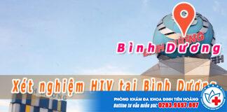 xét nghiệm hiv ở bình dương
