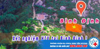 xét nghiệm hiv ở Bình Định